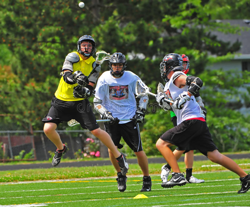 Download Chumash Lacrosse shot editorial stock image. Image of athlete - 9799579