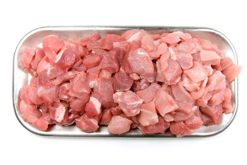 Chunks of meat stock photos