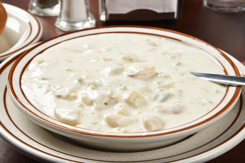 Chunky Chowder stock photography