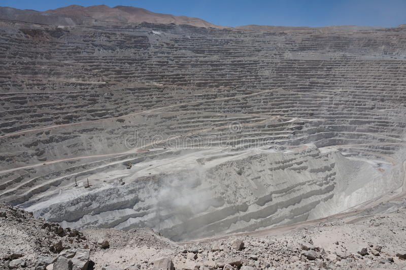 Chuquicamata, Atacama, Chile stock image