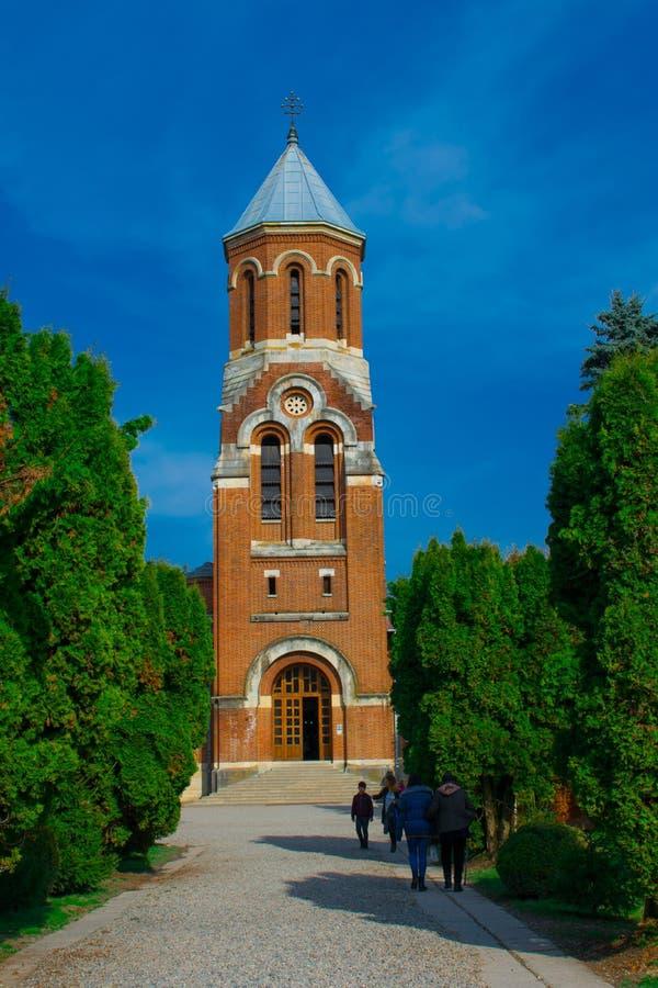 Churc Arges, Rumänien royaltyfri fotografi