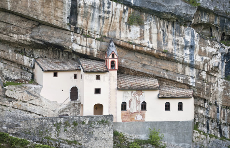 churc colombano偏僻寺院圣 库存照片