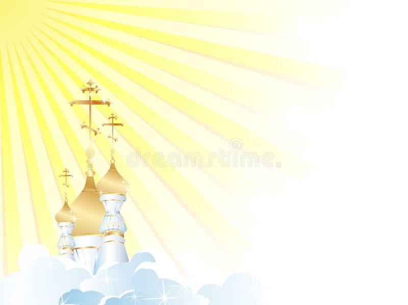 Church stock illustration
