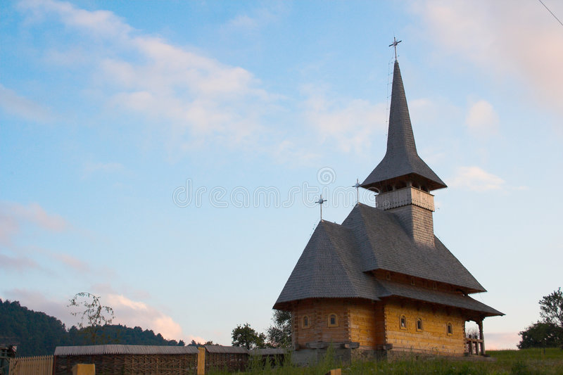 The church royalty free stock images