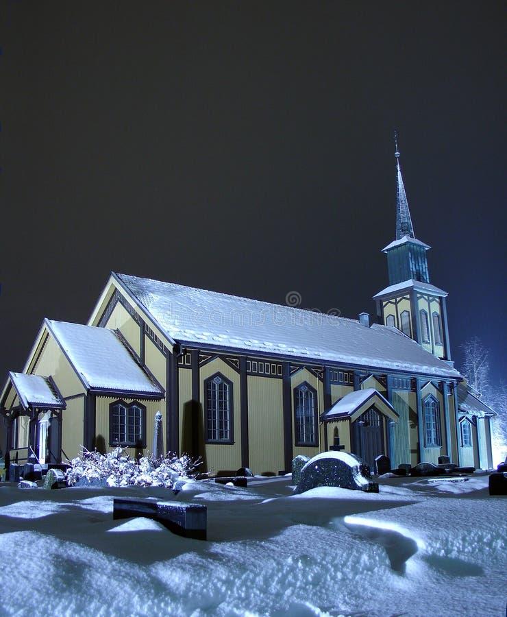 Church_ 4 de Hønefoss imagem de stock