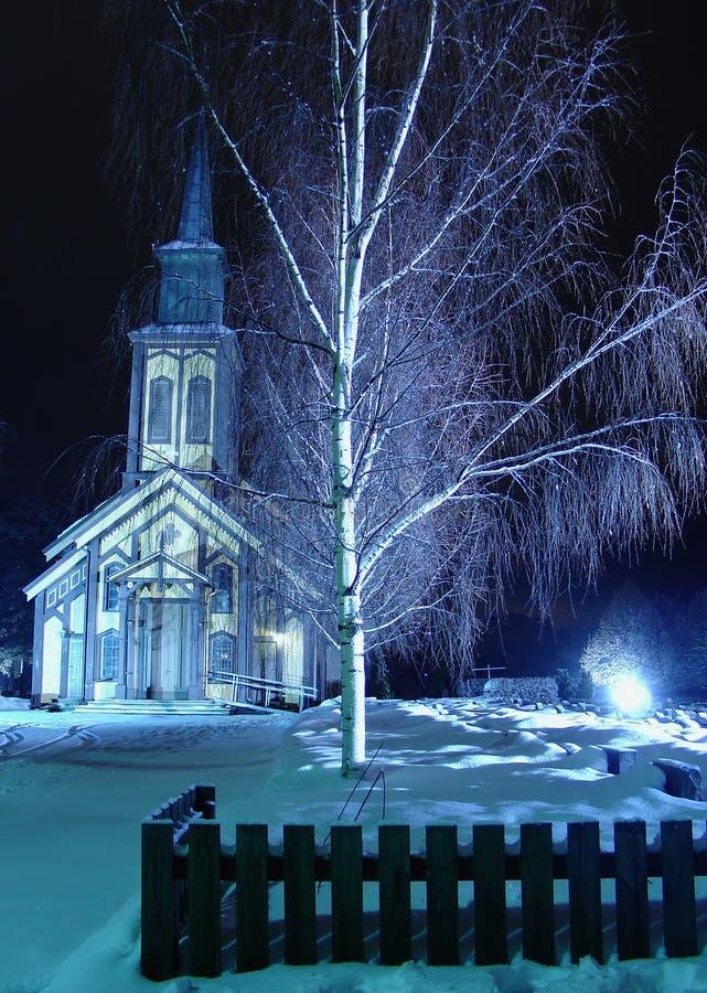 Church_ 4 de Hønefoss fotografia de stock royalty free