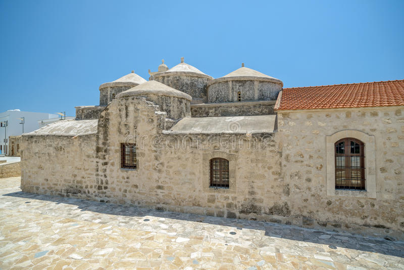Church of Agia Paraskevi in Paphos. Cyprus. Medieval church of Agia Paraskevi in Paphos. Cyprus royalty free stock image