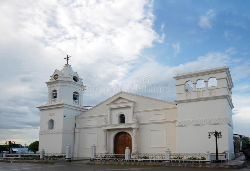 Church of Aguadulce in Cocle, Panama. Catholic Church of Aguadulce in the Province of Cocle, Panama royalty free stock image