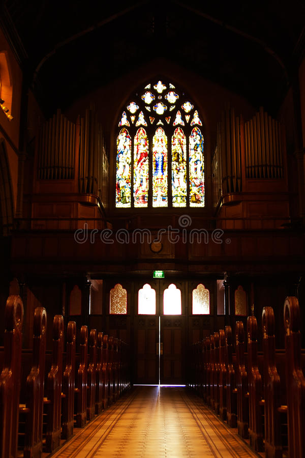 Church Aisle Royalty Free Stock Image