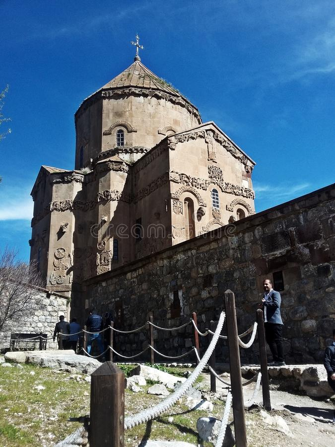 Van Akdamar Church stock photography