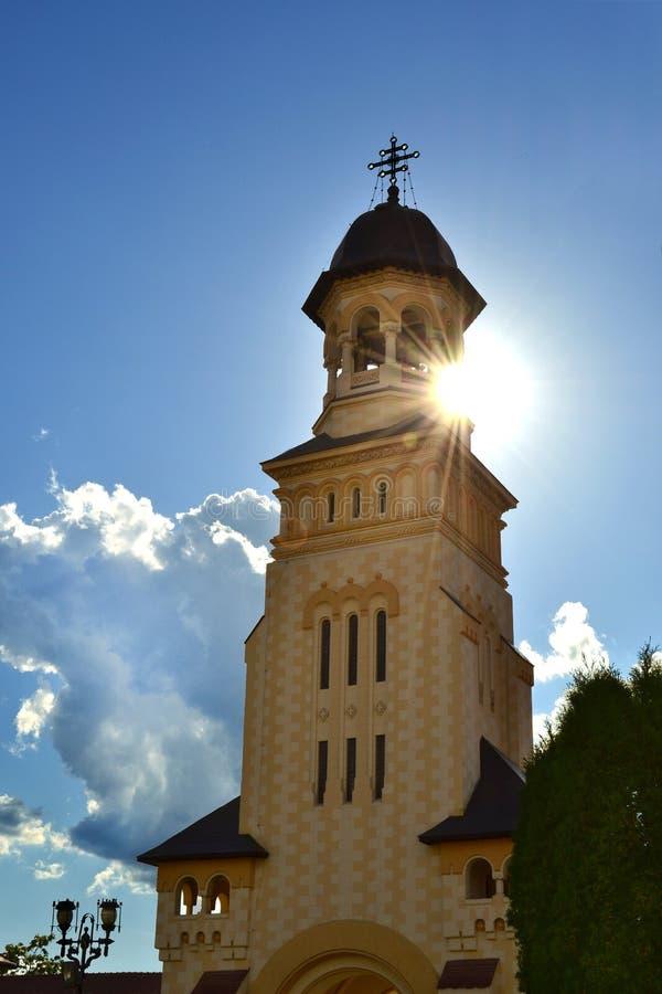 Church from Alba Iulia. Romania royalty free stock photo