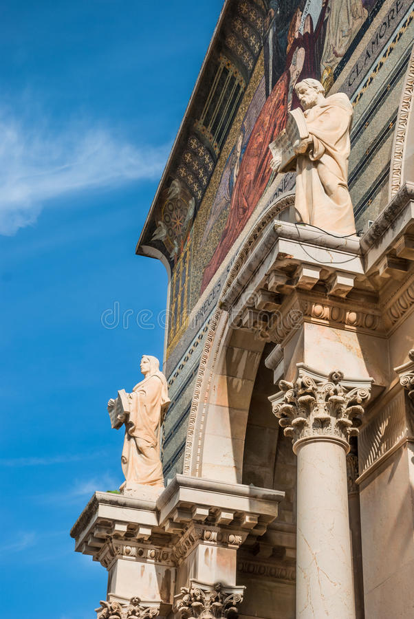 Church of All Nations- facade stock photo
