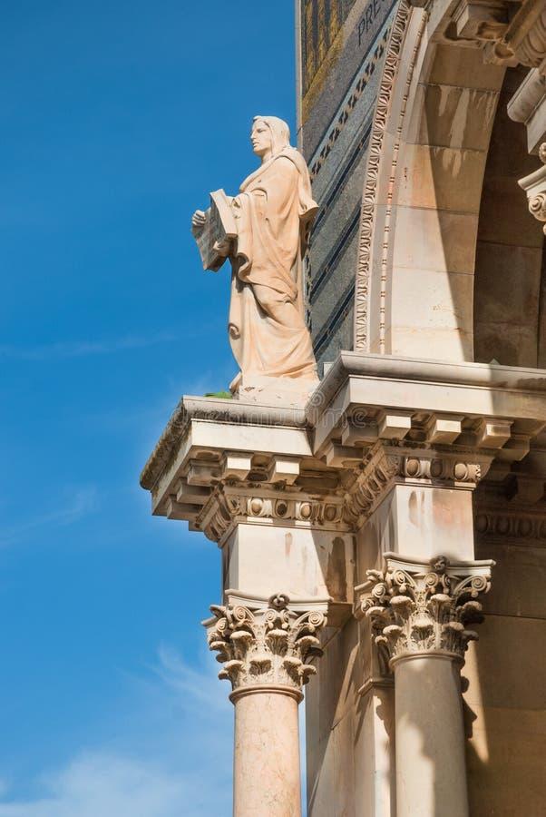 Church of All Nations- facade royalty free stock photos