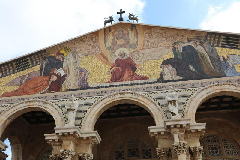 Church of All Nations in Jerusalem royalty free stock photo
