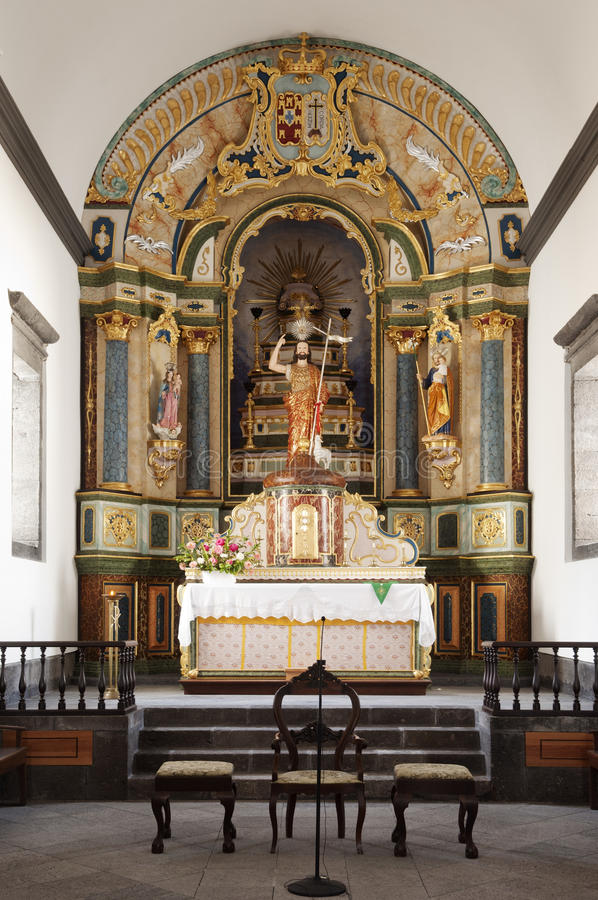 Free Church Altar Stock Image - 18892011
