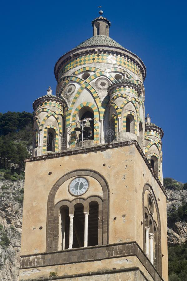 Church of Amalfi stock photography