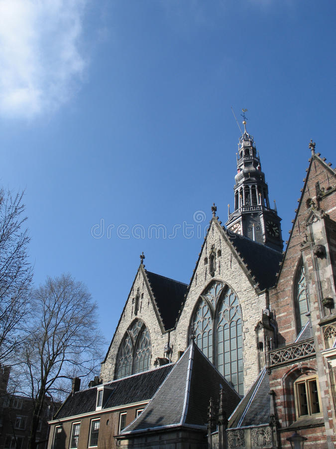 Download Church in Amsterdam stock photo. Image of amsterdam, pillar - 26538324