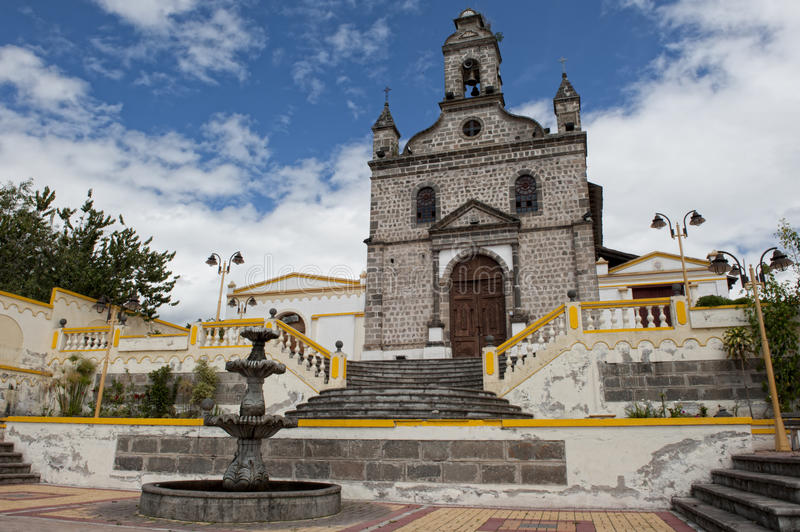 Download Church In The Andes In Ecuador Stock Image - Image: 24719483