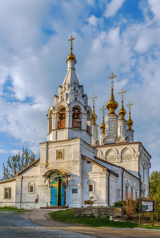 Church of the Annunciation, Ryazan, Russia. Church of the Annunciation was founded in 1673, Ryazan, Russia royalty free stock photography