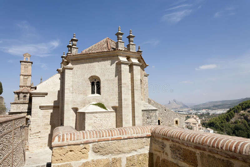 Church in Antequera royalty free stock photos