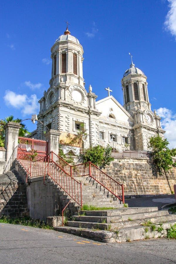 Church in Antigua stock photos