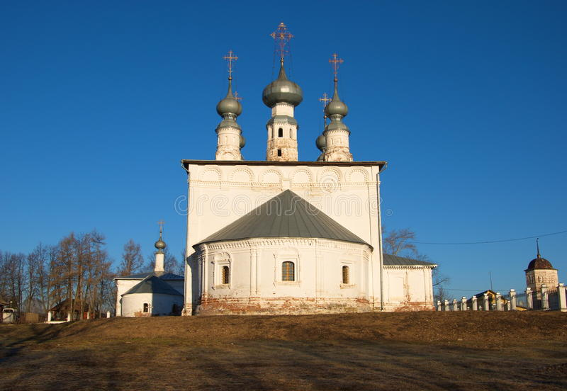 The Church of the Apostles Peter and Paul in Suzdal royalty free stock image