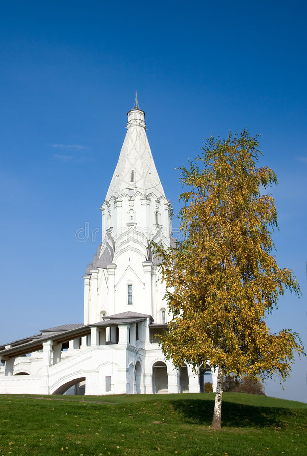 Church of the Ascension - Kolomenskoye museum royalty free stock images