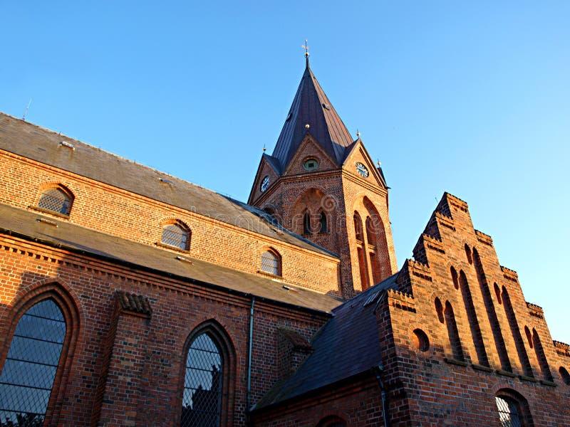 Church Assens Denmark. Details of a church in Assens Denmark royalty free stock images