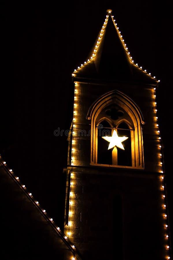 Free Church At Night Royalty Free Stock Photos - 2515718