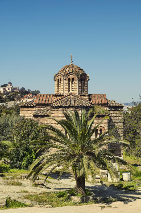 Download Church in Athens stock image. Image of civilization, structure - 19475281