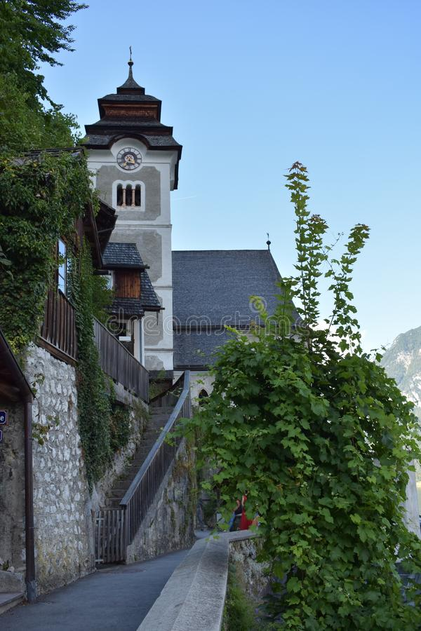 Church in Austria royalty free stock images