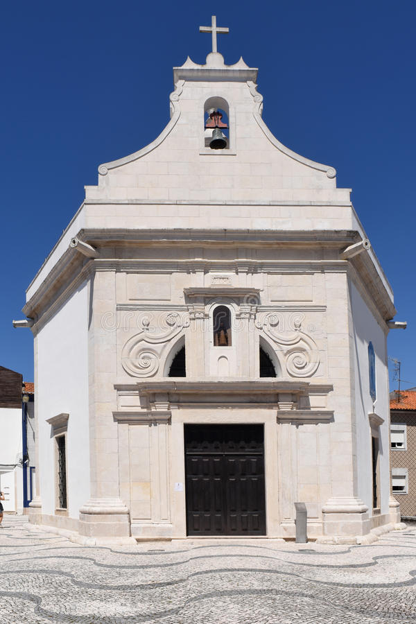 Church of Aveiro, Beiras region,. Portugal royalty free stock photography