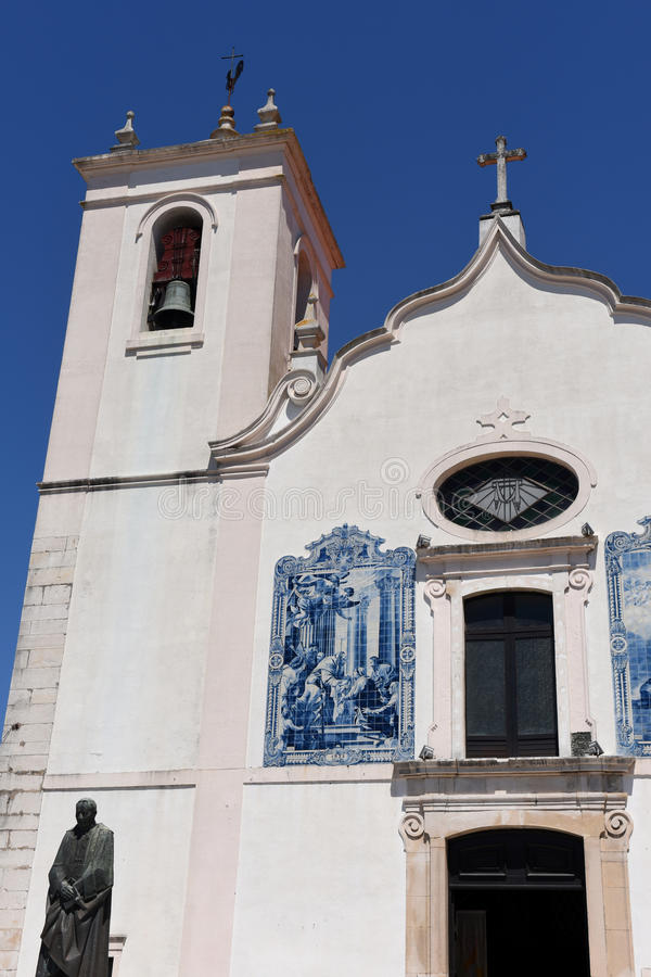 Church of Aveiro, Beiras region;. Portugal royalty free stock photos