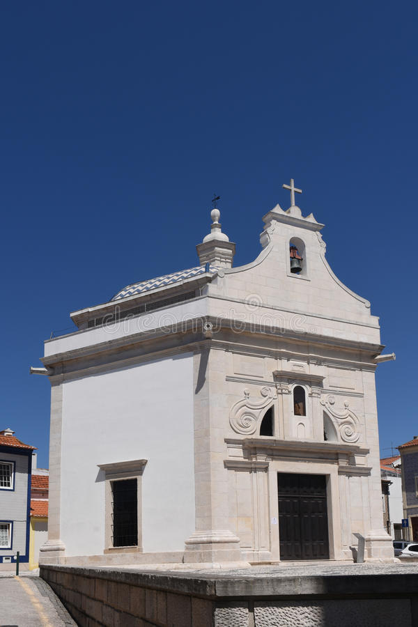 Church of Aveiro, Beiras region;. Portugal stock photo