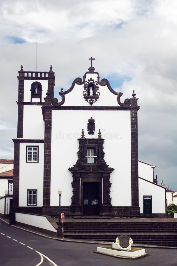 Church, Azores stock photos