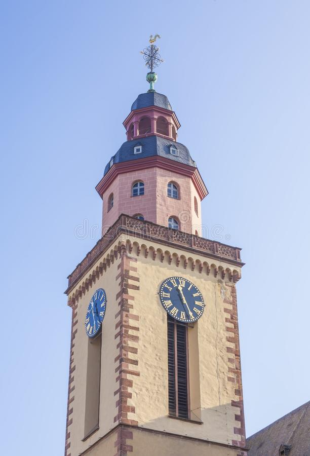 Church Bank architecture in Frankfurt am Main. City, Germany stock photo