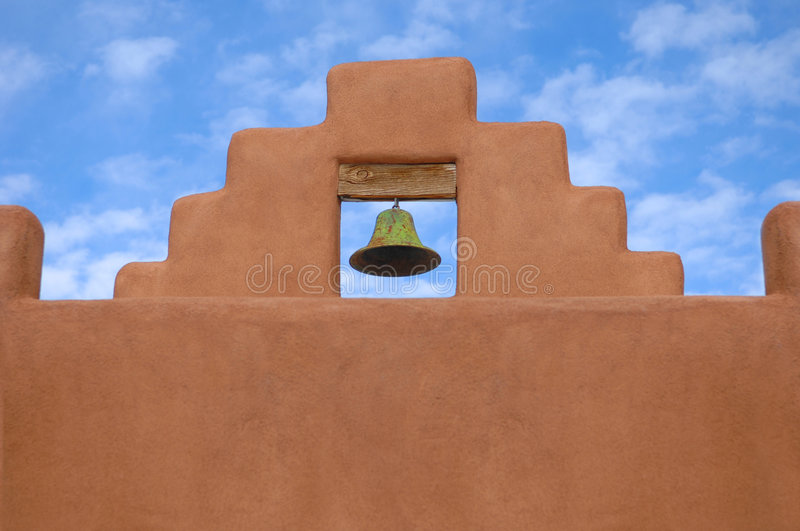 Download Church Bell-New Mexico Southwest Stock Image - Image: 8345903