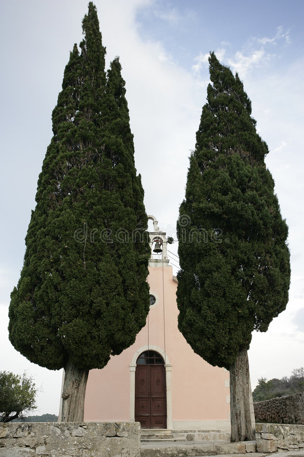Download Church bell tower stock image. Image of cypress, easter - 458703