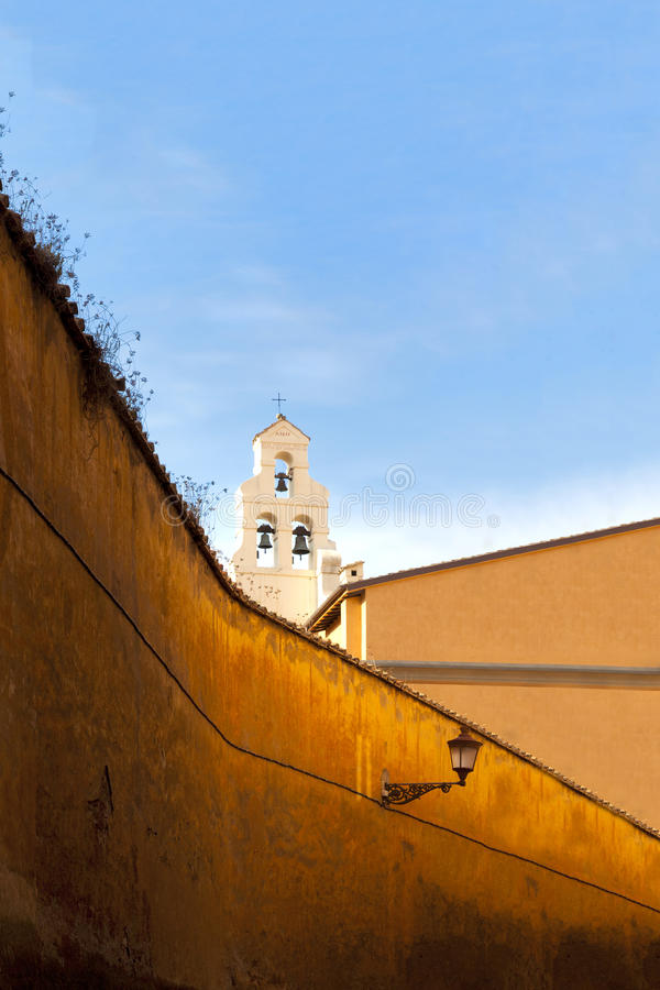 Download Church bell tower in Rome stock photo. Image of italy - 24565234