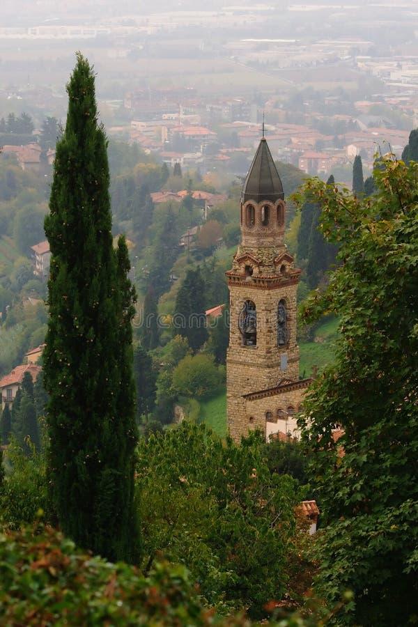Church in Bergamo royalty free stock photos