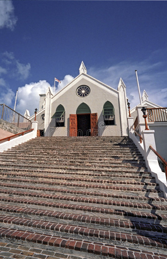 Church in Bermuda stock photos