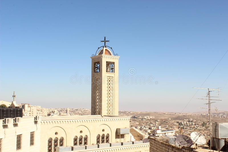 Church in Bethlehem royalty free stock images