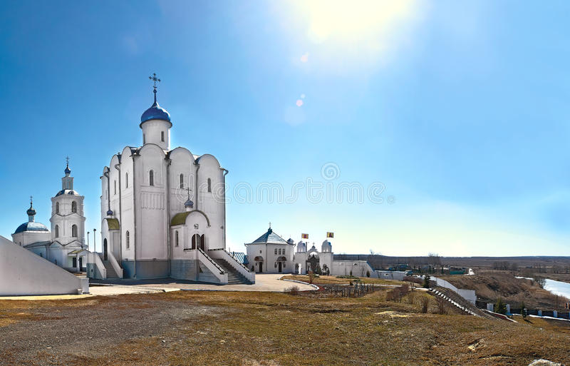 Church of the Blessed Xenia of Petersburg in the village of Arskoye Russia stock photography