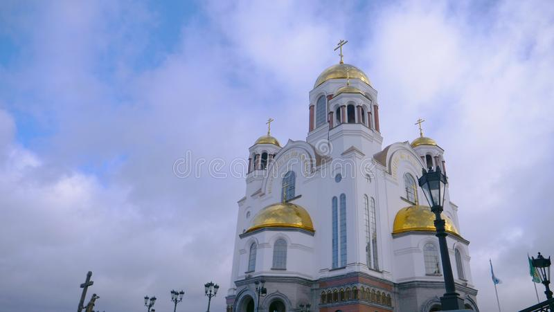 The Church on the Blood in Yekaterinburg Russia royalty free stock photography