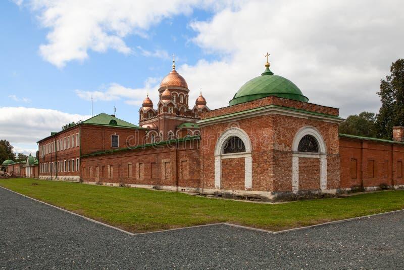 Download Church In Borodino Savior Convent. Russia Stock Image - Image of famous, construction: 39503099