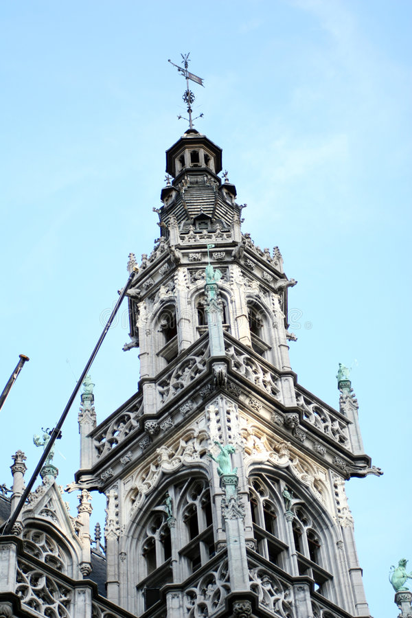 Download Church in Brussels stock image. Image of ancient, brussels - 1416621