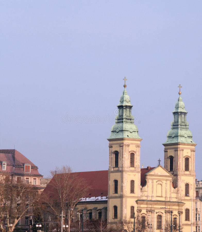 Church in Budapest stock photos