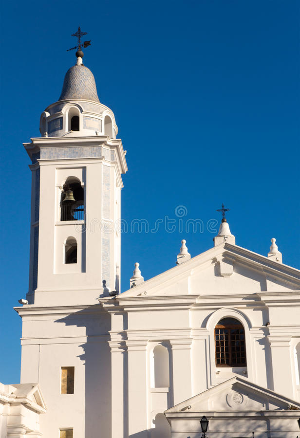 Church in Buenos Aires stock photos