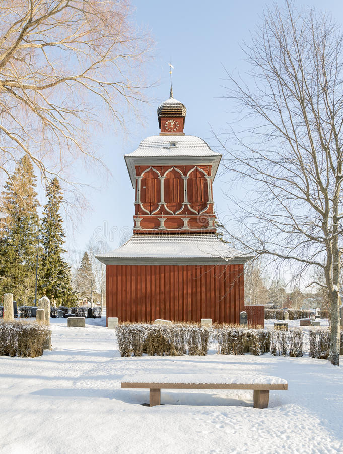 Free Church Building In Nordmaling, Sweden Stock Photos - 66219393