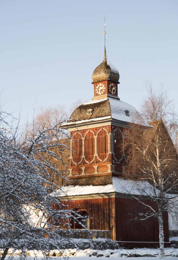 Free Church Building In Nordmaling, Sweden Stock Image - 66219491